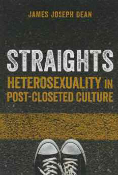 Straights Heterosexuality in Post-Closeted Culture cover