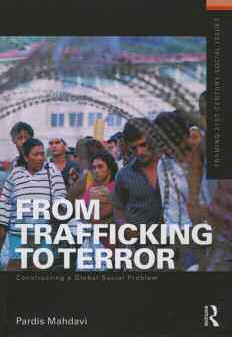 From Trafficking to Terror Constructing a Global Social Problem cover