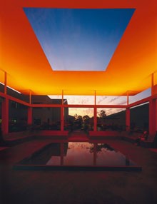 """Dividing the Light"" -- copyright James Turrell. Photo by Florian Holzherr"