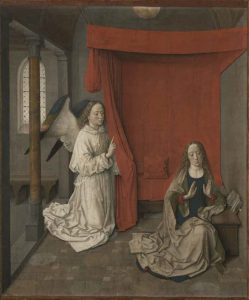 Dieric Bouts, Annunciation, J. Paul Getty Museum