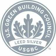 LEED silver seal