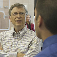8 minutes & 28 seconds with Bill Gates