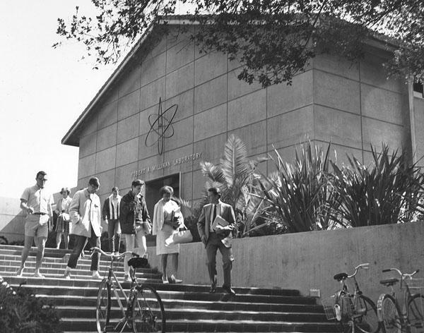 Millikan Hall, decades ago.