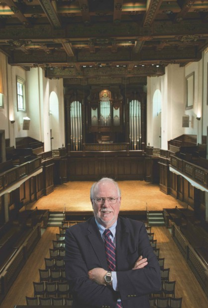 Photo of Professor Graydon Beeks '69