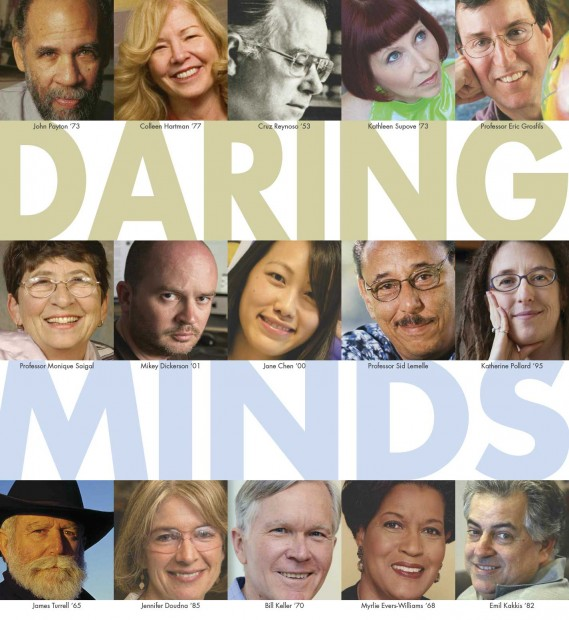 Daring Minds portrait collage