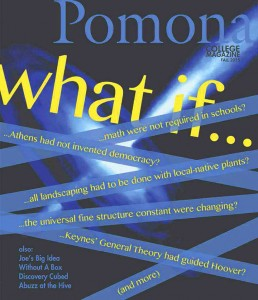 Pomona College Magazine Fall 2015 cover