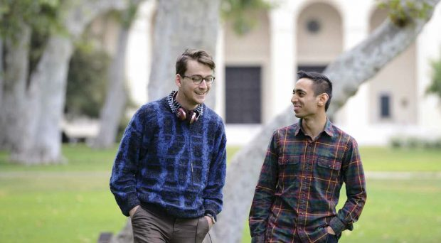Hidden Pomona creators Kevin Tidmarsh '16 (left) and Saahil Desai '16