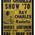 Poster for singer Ray Charles