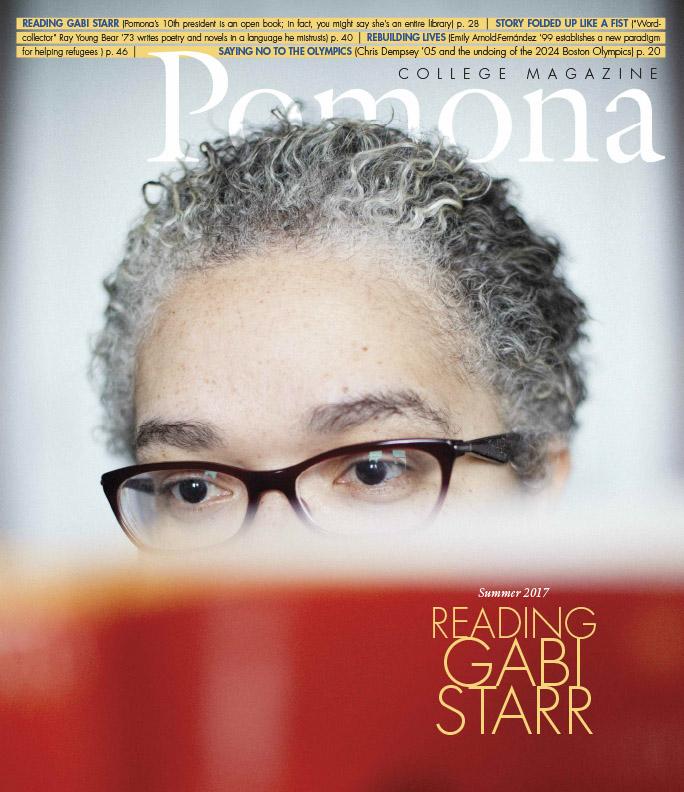 reading gabi starr pomona college magazine