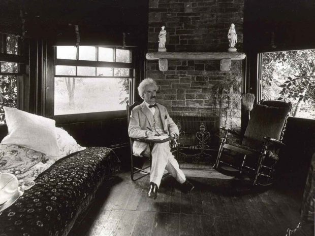 Mark Twain at Quarry Farm