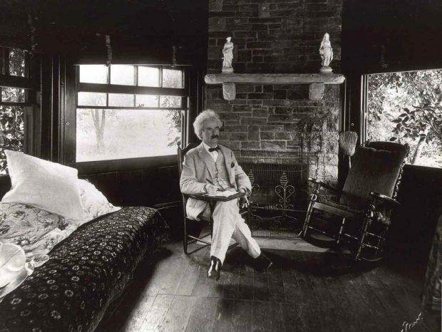Mark Twain at Quarry Farm