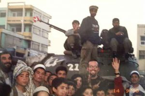 Gutkin in Kabul after the fall of the Taliban