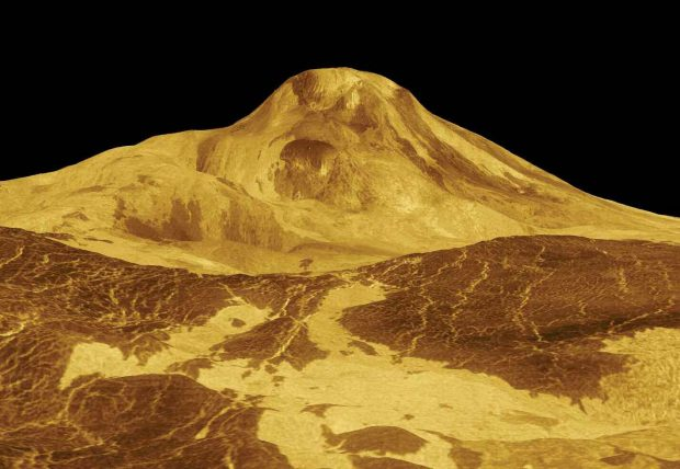 Volcanic Venus