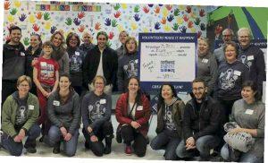 4/7 alumni volunteer event in Seattle, Wash.