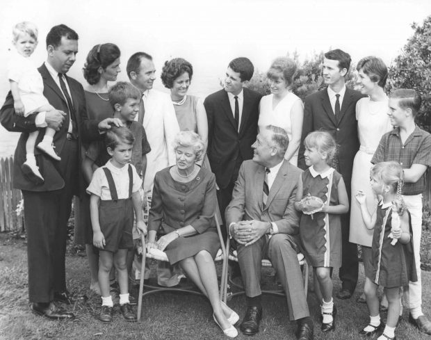 The Revelle clan in 1964