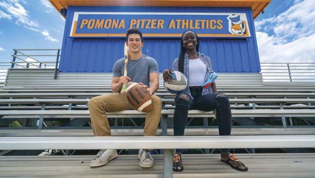 Vicky-Marie Addo-Ashong '20 and Andrew Phillips '19