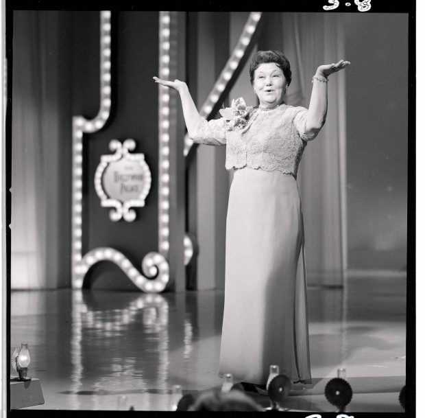 Mrs. Miller performs on TV's The Hollywood Palace.