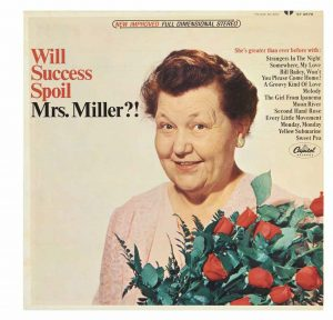 Will Success Spoil Mrs. Miller?