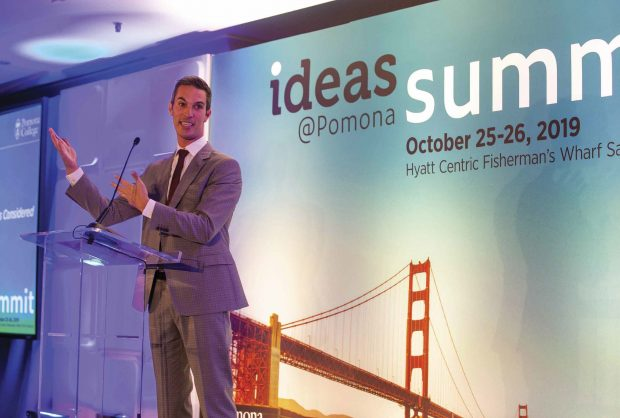 Ari Shapiro speaks to a sold-out crowd