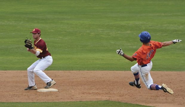 The Pomona-Pitzer baseball team defeats Claremont-Mudd-Scripps in one of the last public events held on campus before the cancelation of all spring semester events.