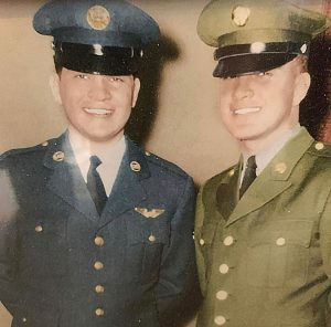 Two uncles on Carpio's mother's side, Osvaldo and Nonato Garcia, also served their country.